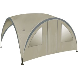 Bo Garden Side Wall with Door for Party Shelter Large Beige 4472220