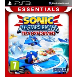 Sonic All Stars Racing Transformed PS3 Game (Essentials)