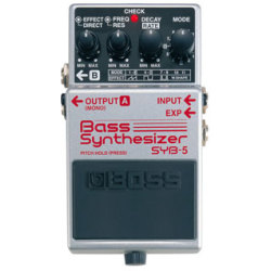 Boss SYB5 Bass Synthesizer Guitar Pedal