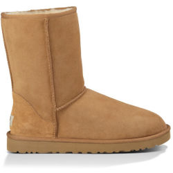 UGG Men's Classic Short Boot in Chestnut Size 11 Leather Shearling Suede