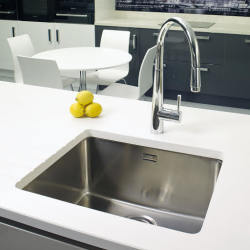 Reginox Ohio 50x40 Stainless Steel Integrated Single Bowl Sink