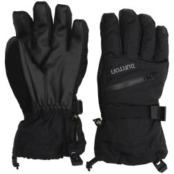 Burton Gore Tex Gloves true black