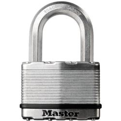 Master Lock Excell™ Laminated Steel 45mm Padlock 4 Pin 38mm Shackle