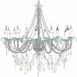 vidaXL Chandelier with 1600 Crystals