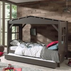 Pino House Cabin Bed in Taupe