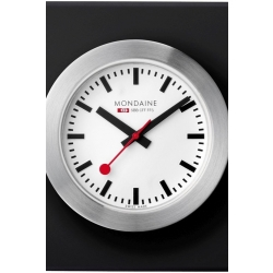 Mondaine Swiss Railways Desk Clock A6603031884SBB