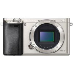 Sony A6000 Digital Camera Body Silver