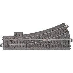 H0 Maerklin C (incl. track bed) 24611 Points Left 188.3 mm