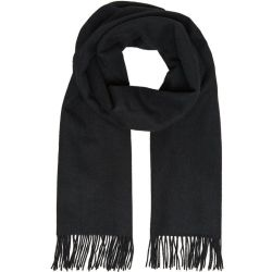 SELECTED Wool Scarf Women Black