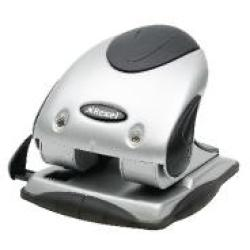Rexel Precision P240 Hole Punch SilverBlack 2100748