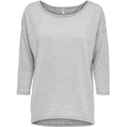 ONLY Loose Long Sleeved Top Women Grey