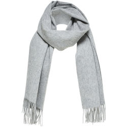 SELECTED Wool Scarf Women Grey