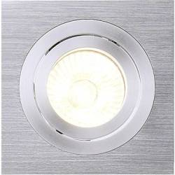 SLV 111361 New Tria I Recess mount bracket HV halogen GU10 50 W Aluminium (brushed)