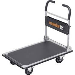 Meister Werkzeuge 8985630 Flatbed trolley folding compartment Steel Load capacity (max.) 300 kg