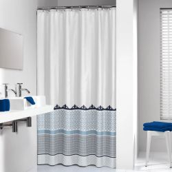 Sealskin Shower Curtain Marrakech 180 cm Blue 235281324