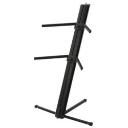 Adam Hall SKS22XB Double Keyboard Stand