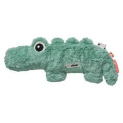 Done by Deer Tiny Tropics Cuddle Cute Croco Soft Toy Green