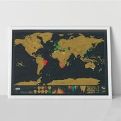 Scratch Map Gold Edition