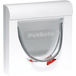 PetSafe Magnetic 4 Way Cat Flap Classic 932 White 5032