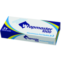 Aluminium Foil for Wrapmaster Compact Dispenser (Pack of 3) Pack of 3
