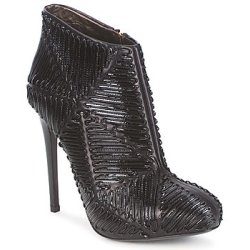 Roberto Cavalli QPS566 PN018 women's Low Ankle Boots in Black