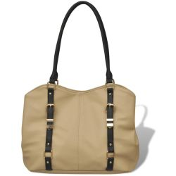 vidaXL Beige Purse