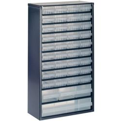Raaco Cabinet 1240 123 with 40 Drawers 137430